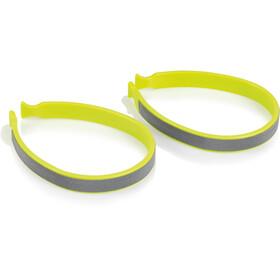 XLC CP-C01 Trouser Clip Set, neon/reflex